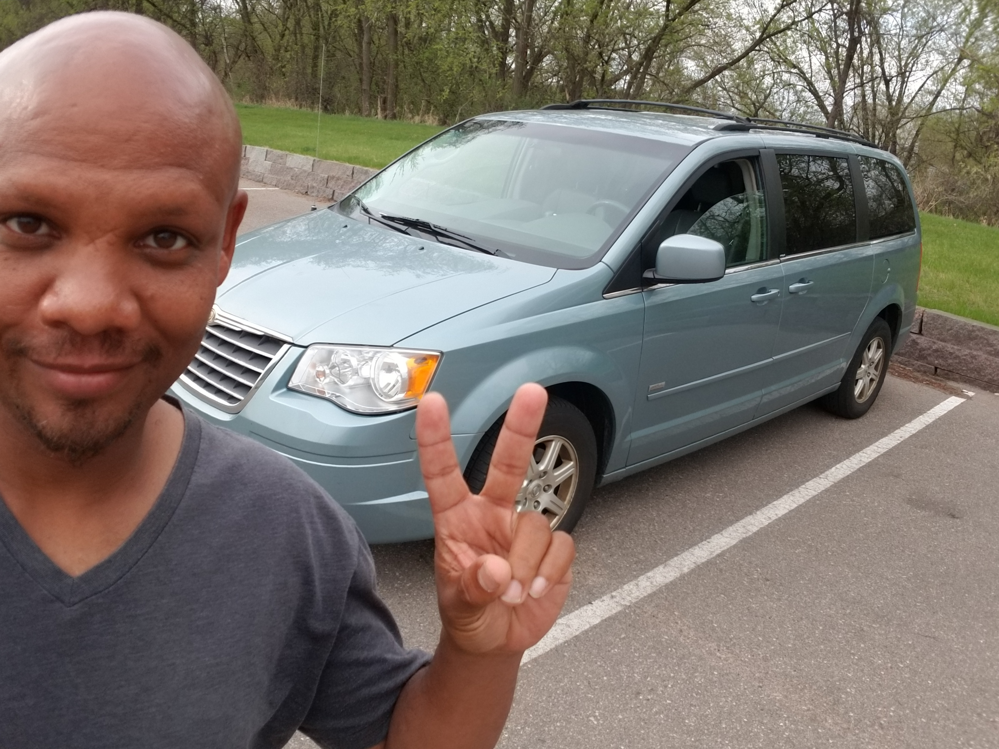 Got Myself a Mini Van for the Summer…and a bunch of likes